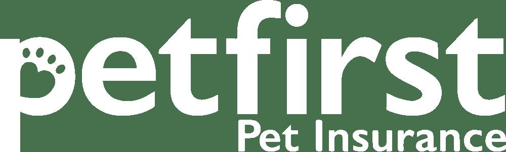 petfirst white logo