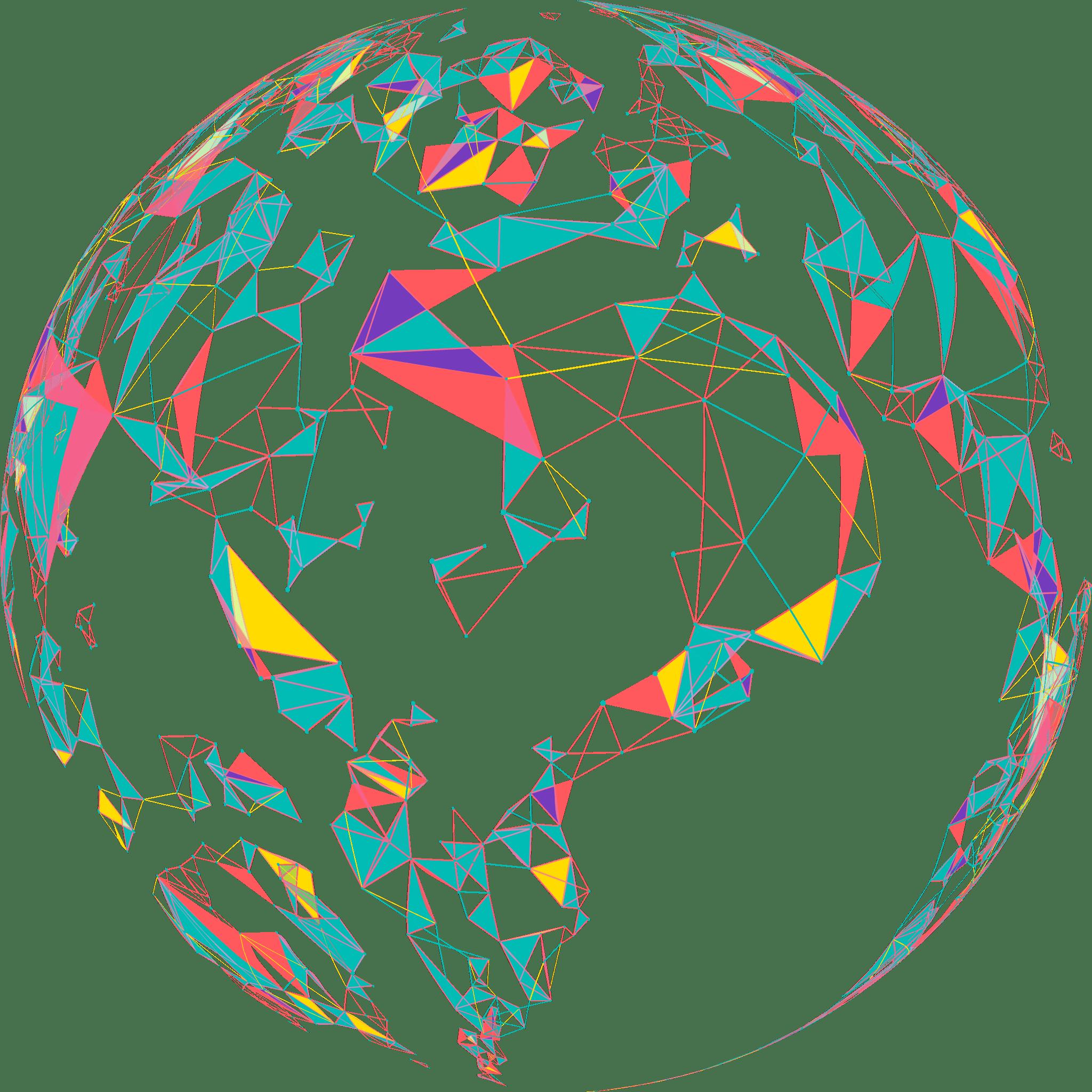 technology globe